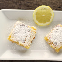 Gluten Free Lemon Bars Recipe