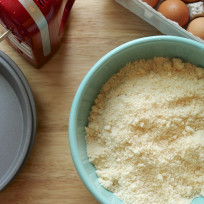Yellow Cake Mix Photo