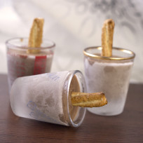 Pretzel Fudge Pops Photo
