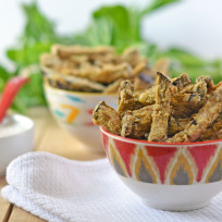 Eggplant Fries Photo