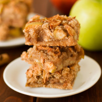 Gluten Free Apple Pie Bars Photo