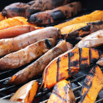 Grilled Sweet Potatoes Recipe
