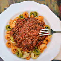 Tortellini bolognese photo