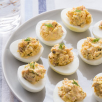 Smoked Salmon Deviled Eggs Recipe