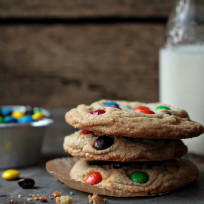Giant M&M Cookies Recipe