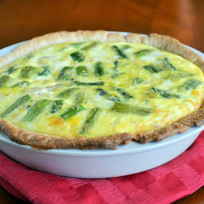 Ham and Asparagus Quiche Recipe