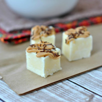 Peanut Butter Banana Fudge Recipe