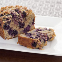 Healthy Blueberry Bread Recipe
