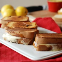 Lemon Mascarpone Grilled Cheese Recipe