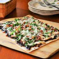 BBQ Chicken Flatbread Recipe