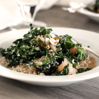Kale Barley Salad Recipe