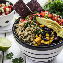Cilantro Lime Rice Bowl Recipe