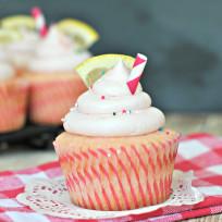 Pink Lemonade Cupcakes Recipe