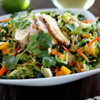 Thai Chopped Chicken Salad Recipe