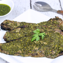 Grilled Chimichurri Steaks Recipe