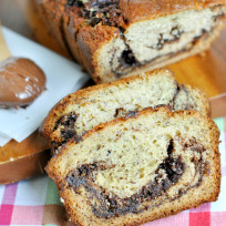 Nutella Banana Bread Recipe