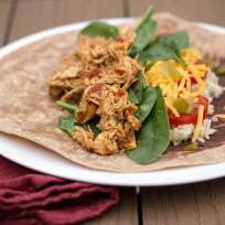 Healthy Chicken Burritos Recipe