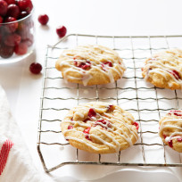 Orange Cranberry Cookies Recipe