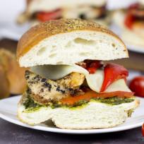Grilled Chicken Pesto Sandwich Recipe