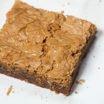 Brown Butter Blondies with Toffee and Hazelnut Recipe