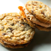 Butterfinger Cookie Sandwiches Recipe