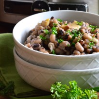 Slow Cooker Black Eyed Peas Recipe