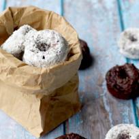 Chocolate Avocado Mini Donuts Recipe
