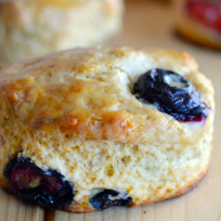 Mixed Berry Biscuits Recipe