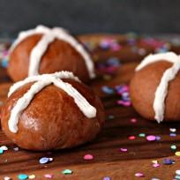 Chocolate Caramel Hot Cross Buns Recipe