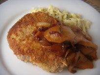 Pork Chops with Apples: A fall classic!
