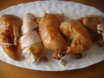 Roasted Chicken: The Best Ever!