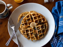 Blueberry Waffles: A Great Way to Start the Day