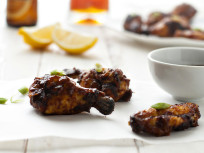 New Orleans Style Barbecue Chicken Wings: Perfect for the Super Bowl!