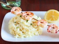 Shrimp Risotto: Perfect for Date Night