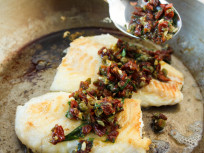 Pan Roasted Cod: With Sundried Tomato Relish!