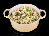 Chicken Noodle Soup: A Catch-All Comfort & A Le Creuset Giveaway!