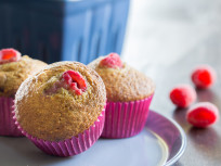 Raspberry Bran Muffins: Better Than Grandma's