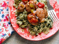 Italian Sausage & Cauliflower Rice: A Paleo Delight