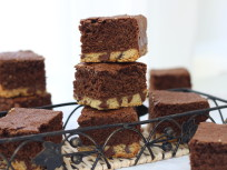 Chocolate Chip Shortbread Brownies: Double the Dessert!