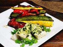 Grilled Tilapia with Cilantro Marinade: Tender, Succulent Dinner
