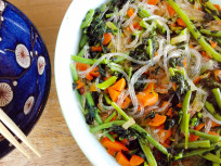 Glass Noodles: Ancient Greens, Gorgeous Salad