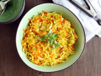 Cabbage Stir Fry: Full of Indian Flavor