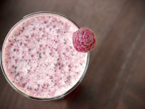 Green Monster Smoothie: Rockin' Raspberries