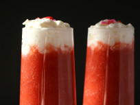 Coconut Strawberry Daiquiri for Two