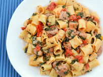 Rigatoni with Sausage: Easy Italian