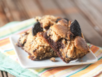 Oreo Peanut Butter Brownies: Brookie Goodness