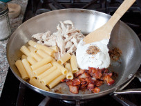 Chicken Bacon Pasta: Creamy 5 Ingredient Supper
