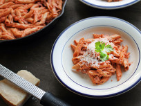 Penne Vodka Made at Home
