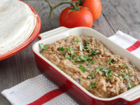 Vegetarian Refried Beans for Taco Night