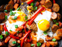 Buffalo Chicken Hash: Ready for Game Day